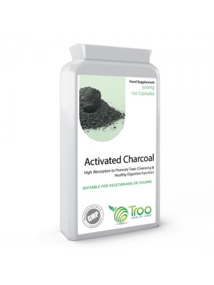 Activated Charcoal 300mg 120 Capsules