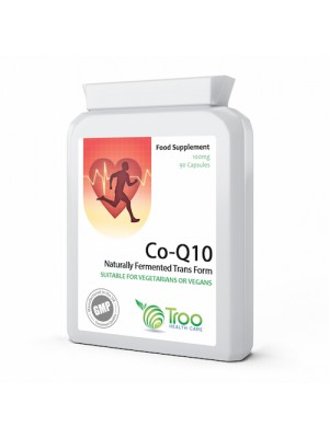 Co Enzyme Q10 CoQ10 100mg 90 Capsules