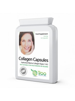 Collagen Type 1 & 2 60 Capsules 600mg