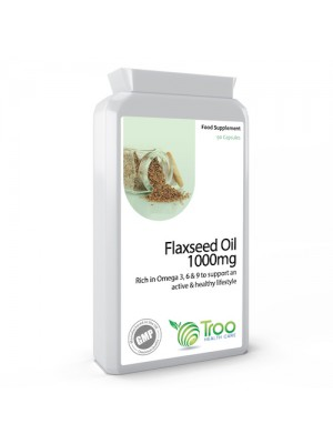 Flaxseed Oil 1000mg 90 Capsules