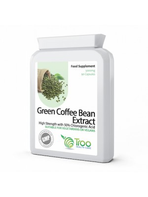 Green Coffee Bean Extract 5000mg 90 Capsules