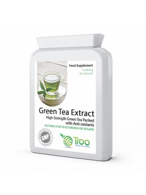 Green Tea 30:1 Extract 12,480mg 90 Capsules
