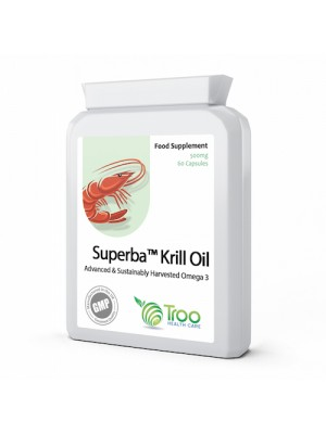 Superba Krill Oil Extract 500mg 60 Capsules