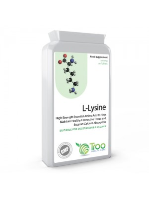 L-Lysine 1000mg 90 Tablets
