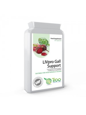 LIVpro Liver and Gallbladder Support 60 Capsules