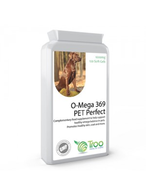 O-Mega 369 Pet Perfect 1000mg 120 Capsules