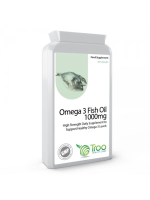 Omega 3 Fish Oils 1000mg 90 Capsules