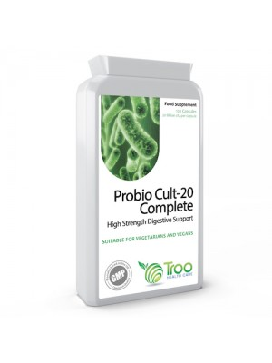 Probio Cult-20 Complete 20 Billion CFU 120 Capsules