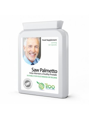 Saw Palmetto 2500mg 90 Capsules