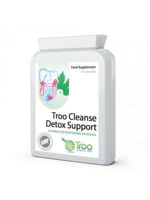 Detox Support Troo Cleanse 600mg 60 Capsules