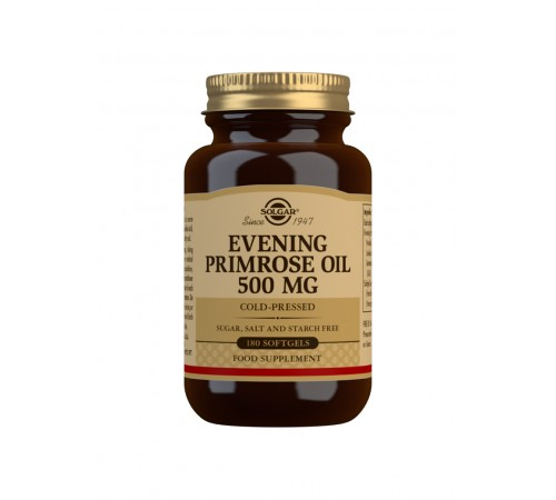 Evening Primrose Oil 500 mg Softgels - Pack of 180
