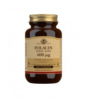 Folacin (Folic Acid) 400 g Tablets - Pack of 100