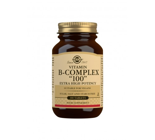 Vitamin B-Complex ''100'' Extra High Potency Tablets - Pack of 100