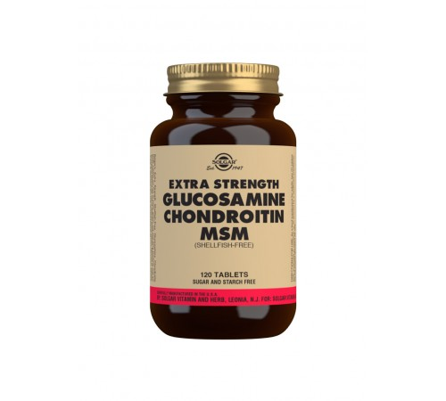 Extra Strength Glucosamine Chondroitin MSM Tablets - Pack of 120