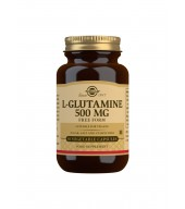 L-Glutamine 500 mg Vegetable Capsules - Pack of 50