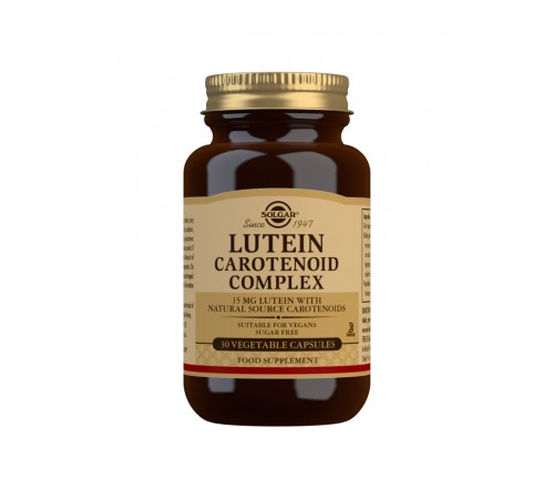 Lutein Carotenoid Complex Vegetable Capsules - Pack of 30
