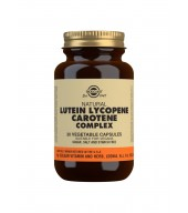 Lutein Lycopene Carotene Complex Vegetable Capsules - Pack of 30