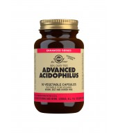 Advanced Acidophilus Vegetable Capsules - Pack of 50