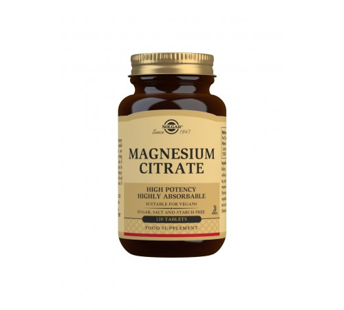 Magnesium Citrate Tablets - Pack of 120