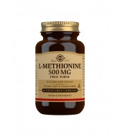 L-Methionine 500 mg Vegetable Capsules - Pack of 30