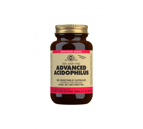 Advanced Acidophilus Vegetable Capsules - Pack of 100
