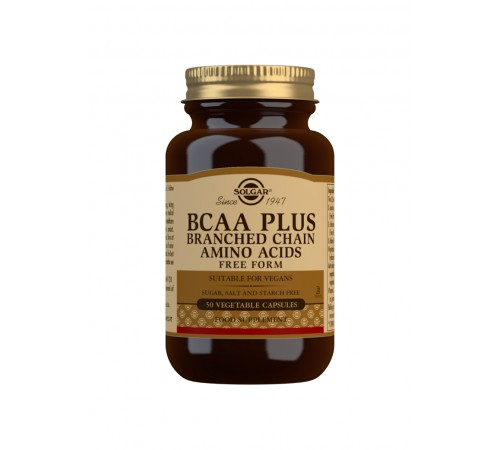 BCAA Plus Vegetable Capsules - Pack of 50