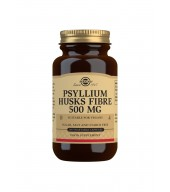 Psyllium Husks Fibre 500 mg Vegetable Capsules - Pack of 200