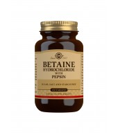 Betaine Hydrochloride with Pepsin Tablets - Pack of 100