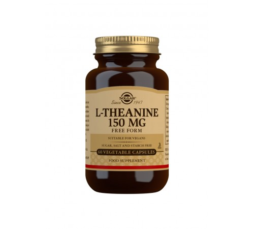 L-Theanine 150 mg Vegetable Capsules - Pack of 60