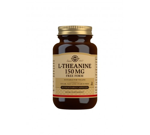 L-Theanine 150 mg Vegetable Capsules - Pack of 30