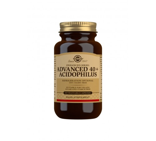 Advanced 40+ Acidophilus Vegetable Capsules - Pack of 60