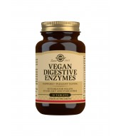 Vegan Digestive Enzymes Tablets - Pack of 50