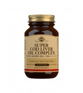 Super Cod Liver Oil Complex Softgels - Pack of 60