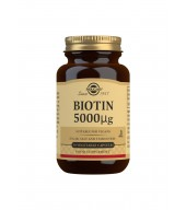 Biotin 5000 g Vegetable Capsules - Pack of 50