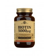 Biotin 5000 g Vegetable Capsules - Pack of 100