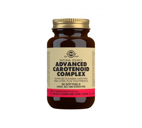 Natural Source Advanced Carotenoid Complex Softgels - Pack of 60