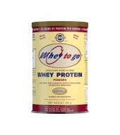 Whey To Go Natural Vanilla Flavour Protein Powder 340 g