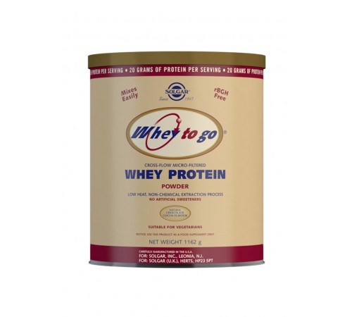 Whey To Go Natural Chocolate Flavour Protein Powder 1162 g