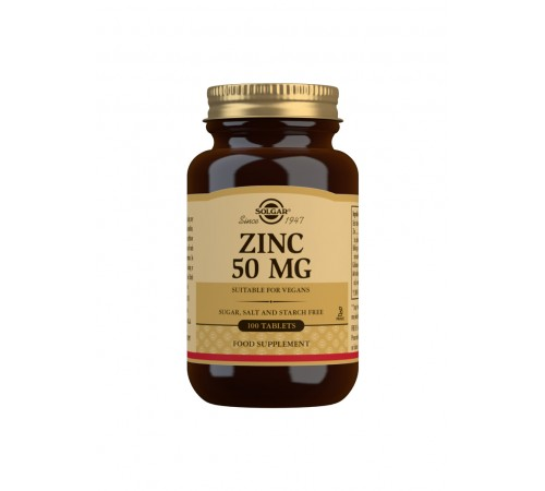 Zinc 50 mg Tablets - Pack of 100
