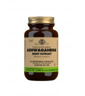 Ashwagandha Root Extract Vegetable Capsules - Pack of 60