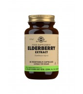 Elderberry Extract Vegetable Capsules - Pack of 60