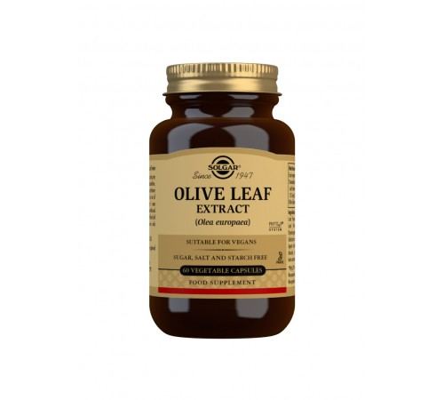 Olive Leaf Extract Vegetable Capsules - Pack of 60