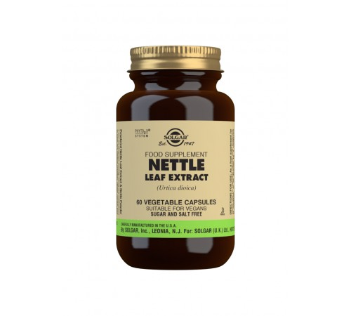 Nettle Leaf Extract Vegetable Capsules - Pack of 60