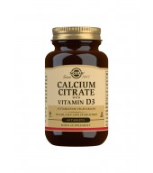 Calcium Citrate with Vitamin D3 Tablets - Pack of 60