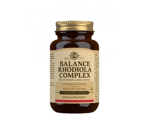 Balance Rhodiola Complex Vegetable Capsules - Pack of 60