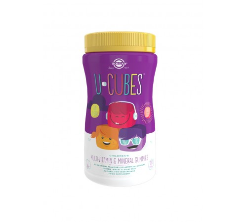 U-Cubes Children's Multi-Vitamin and Mineral Gummies - Pack of 120