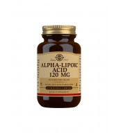 Alpha-Lipoic Acid 120 mg Vegetable Capsules - Pack of 60
