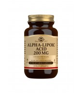 Alpha-Lipoic Acid 200 mg Vegetable Capsules - Pack of 50