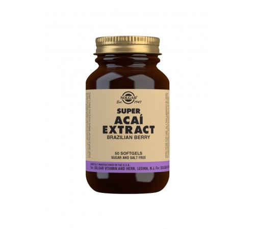 Super Acai Extract Softgels - Pack of 50
