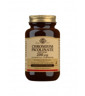 Chromium Picolinate 200 g Vegetable Capsules - Pack of 90
